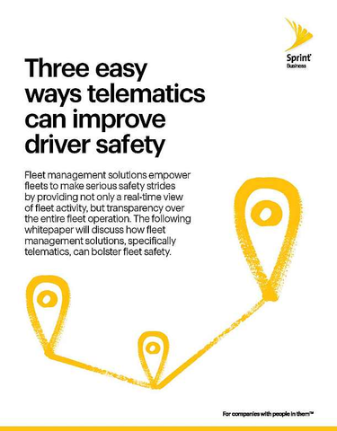 Three Easy Ways Telematics Can Improve Driver Safety