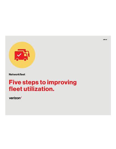 5 steps to improving fleet utilization.