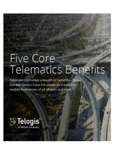Five Core Telematics Benefits