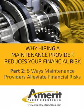 5 Ways Maintenance Providers Alleviate Financial Risks