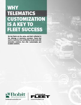 Why Telematics Customization Is a Key to Fleet Success