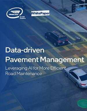 Data-driven Pavement Management