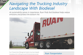 Navigating the Trucking Industry with Biodiesel