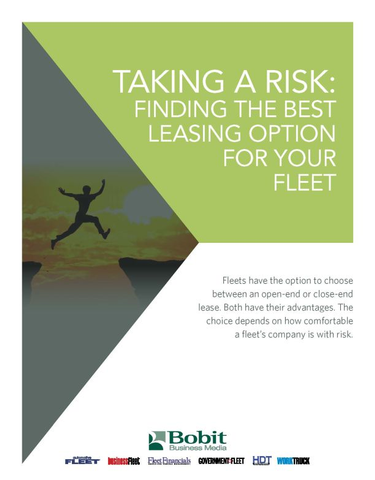 Taking A Risk: Finding the Best Leasing Option For Your Fleet