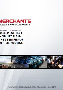 5 Benefits of Vehicle Pooling