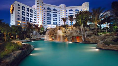 Photo courtesy ofthe Seminole Hard Rock Hotel & Casino in Hollywood, Fla. For 2013, Auto Rental...
