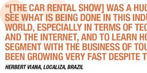 2012 Car Rental Show Goes Big and Goes Global