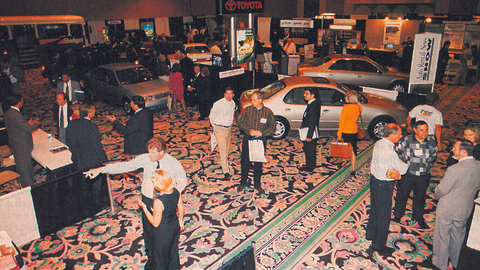 The inaugural Car Rental Show, then called the Auto Rental News show, was held in 1996 at The...