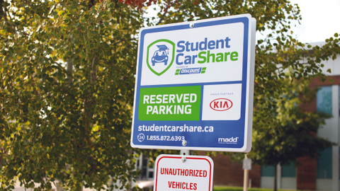 Student CarShare leverages its partnership with Discount Car and Truck Rentals through its fleet...