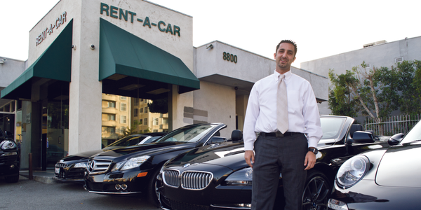 Sam Zaman, owner, Black and White Car Rental