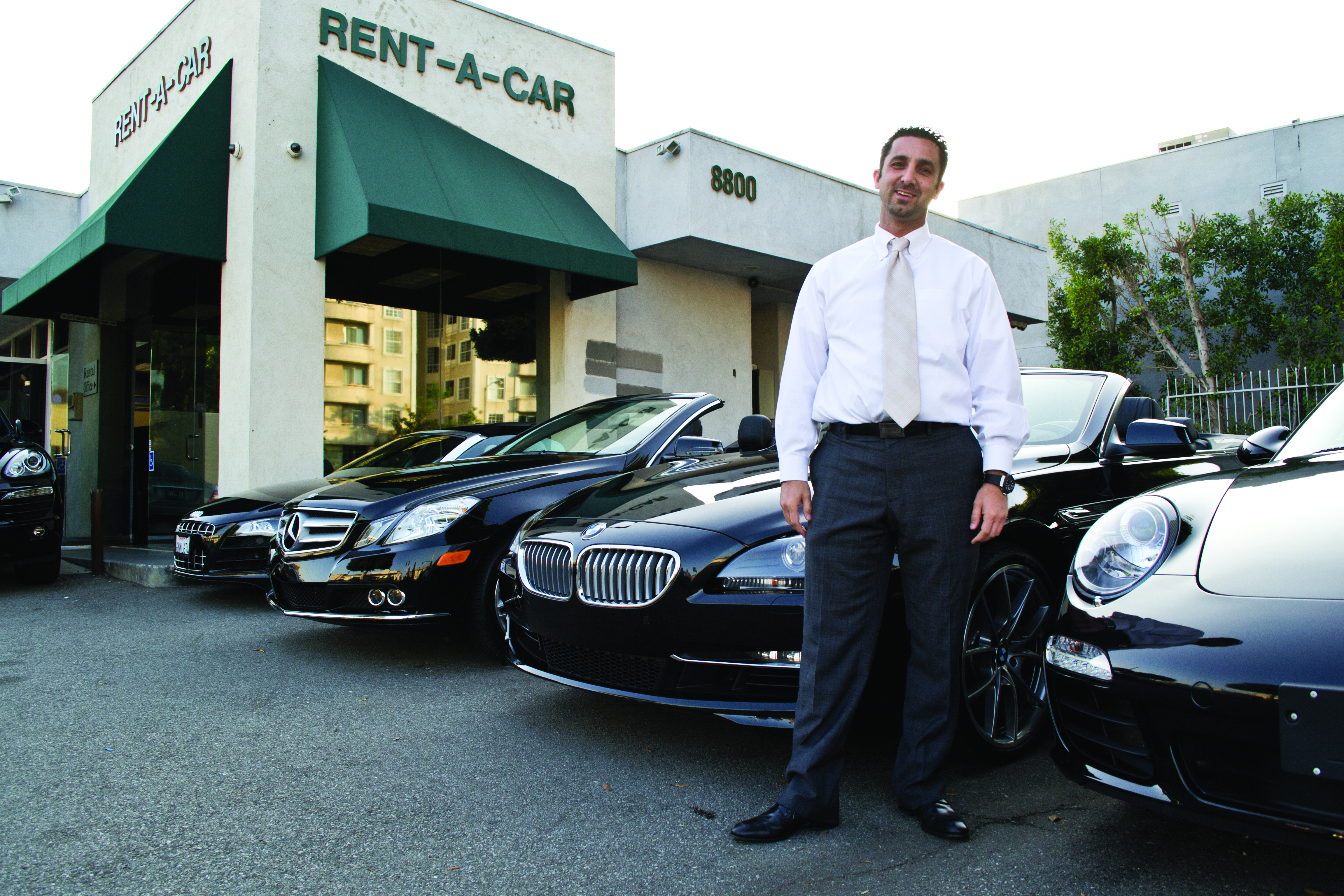 Niche And Famous Exotic Car Rental Company Blossoms In L A