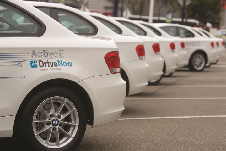 BMW's DriveNow carsharing program, in conjunction with Sixt, operates 2,400 vehicles in Germany, Austria and the United Kingdom.  - Photo courtesy of DriveNow.