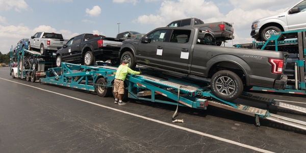 Enterprise Holdings sent 17,000 vehicles to Texas following Hurricane Harvey to meet demand for...