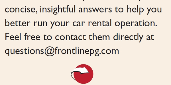 Car Rental Q&A: Stolen Vehicles and Getting Associates to Understand Their Responsibilities in...