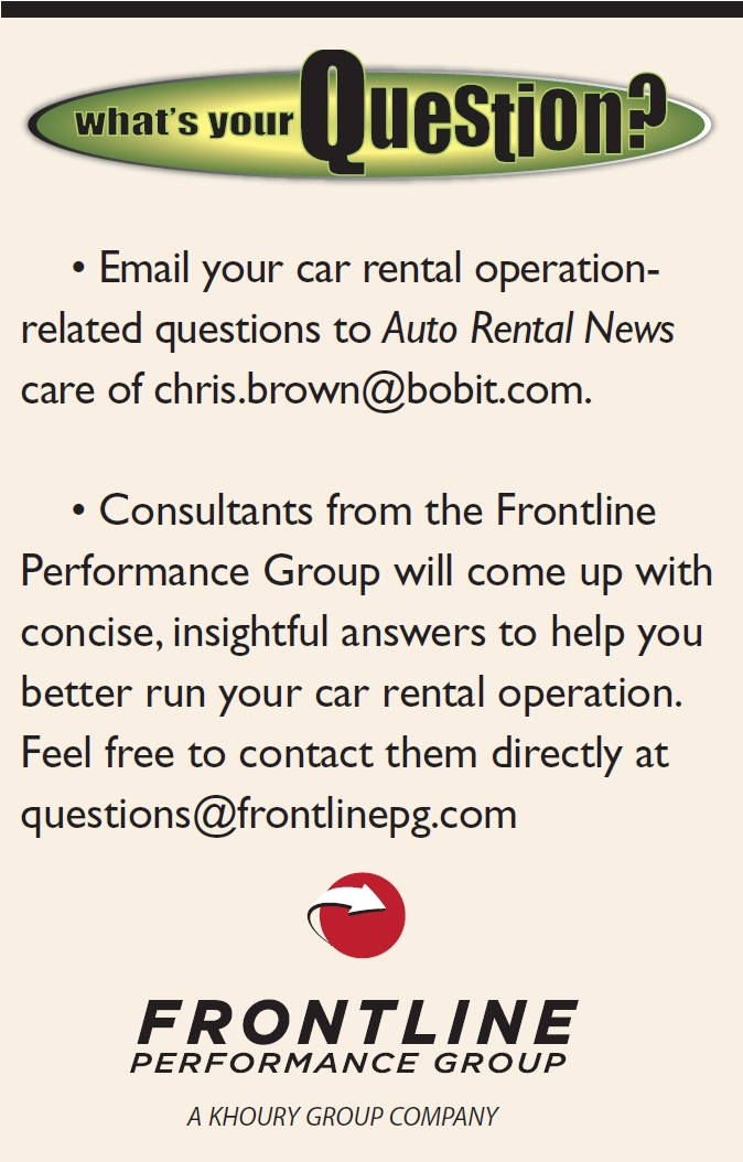 Car Rental Q&A: Stolen Vehicles and Getting Associates to Understand Their Responsibilities in Prevention
