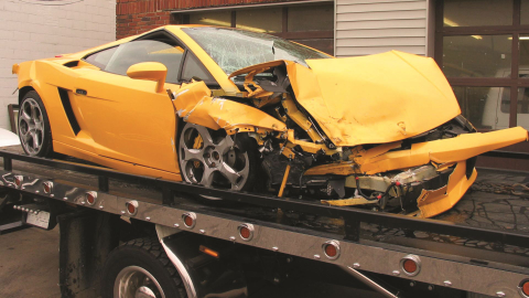 Crashed vehicles are a reality of any car rental business — particularly at the high end. This...