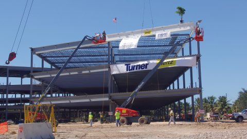 Intended to house at least 700 employees, the new Hertz Corp. headquarters in Estero, Fla., is...