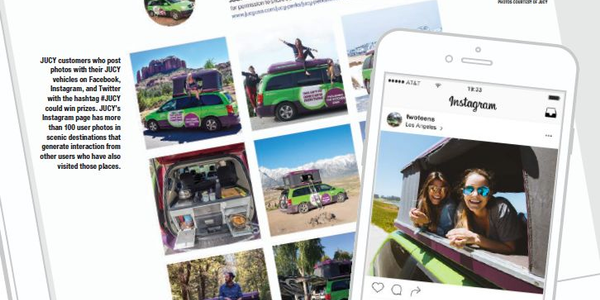 JUCY customers who post photos with their JUCY vehicles on Facebook, Instagram, and Twitter with...