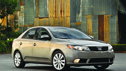 The 2011 Kia Forte. KIA, which had about 35,000 2010-MY rental car fleet registrations, now has...