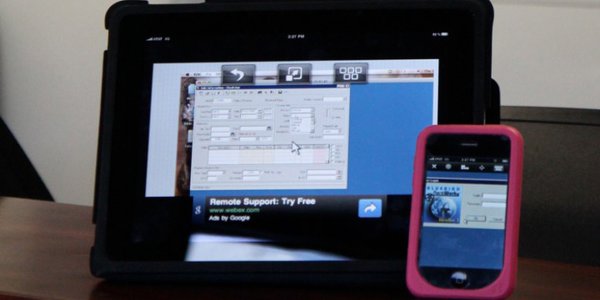 """The Apple iPad and iPhone are two pieces of equipment operators can use in their """"mobile office."""""""