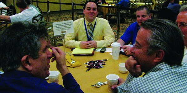 The breakfast roundtable sessions returned for 2010, allowing operators to connect with...