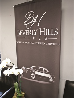 Beverly Hills Rides, a new subdivision of Black and White, offers limousine service with licensed and bonded drivers.