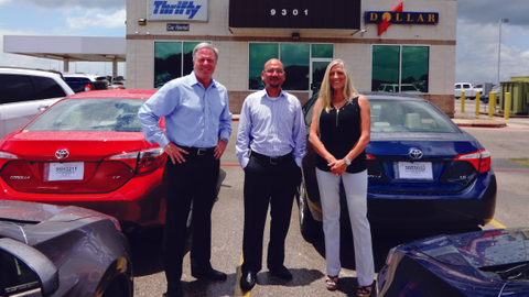 Working with several lenders, including 1st Source Bank, has helped Monty Merrill (left) expand...
