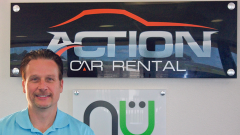 The story of Action Car Rental's beginnings is not unique, as banks are not too willing to lend...