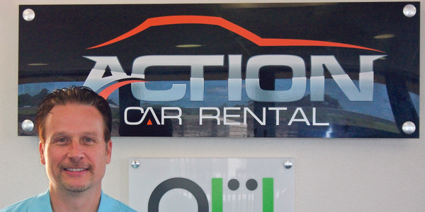 Race Funk started Action Car Rental in Orlando, Fla., in 2008. His plan was to operate for two...