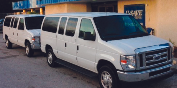 U-Save in Tampa, Fla. starts fleeting up early on passenger vans, minivans and cargo vans when...