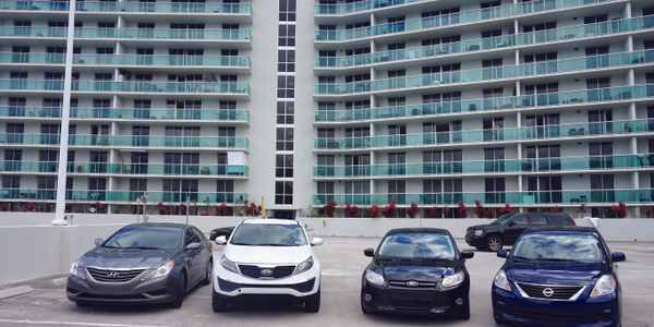 Cars by Hour rents cars at the Flamingo, a mega apartment complex in Miami Beach. Putting...