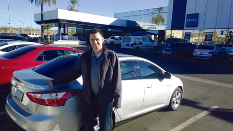 At its AutoNation Ford location, High Life Auto Rental's 30-vehicle fleet mainly consists of...