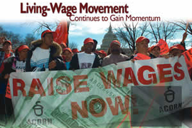 Living-Wage Movement Continues to Gain Momentum
