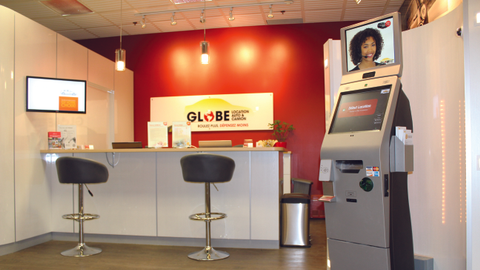 At present, Globe Car Rental has deployed five kiosks, both in-store and at standalone...