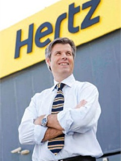 Nigel Johnson, Hertz UAE general manager.