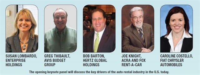 The speakers for this year's opening keynote panel.