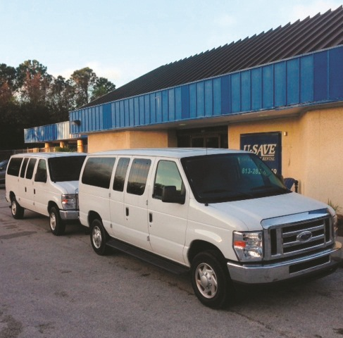 U-Save in Tampa, Fla. starts fleeting up early on passenger vans, minivans and cargo vans when preparing for a large amount of visitors. Regardless of how many vans are added to fleet at this location, they are always the first to go.
