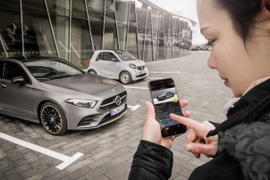 Mercedes-Benz Enables Class-A Private Carsharing