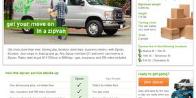 Zipcar Launches Pilot for 'Zipvan' Cargo Van Service in San Francisco