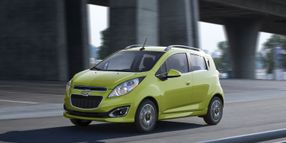 Hertz Adds Chevy Spark to Calif. Locations