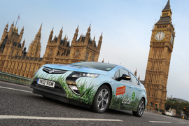 Zipcar and Vauxhall Partnership Releases Ampera to London Fleet