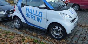 Daimler, BMW Reportedly Merging Car-Sharing Services