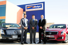 Budget UAE Expands Luxury Vehicle Fleet with Cadillac Models