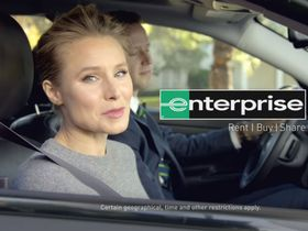Kristen Bell Returns for New Enterprise Campaign