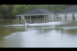 Houston Van Rental Employees Trapped in Homes
