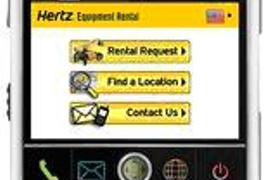 Hertz Equipment Rental Corporation Launches Mobile Website