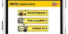 Hertz Equipment Rental Corporation Launches Mobile Website