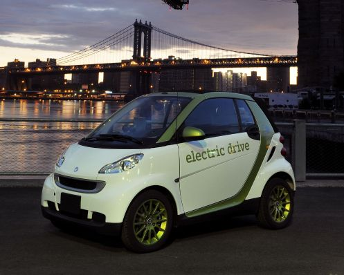 Hertz to Offer Consumers Smart Fortwo Electric Drive Vehicles