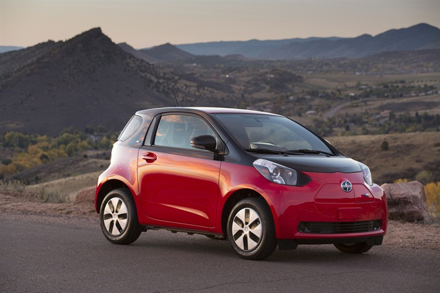 The Scion iQ EV