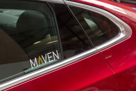 Maven to Offer Ride-Sharing Drivers Leased Vehicles